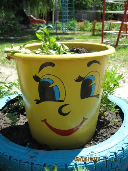 Что можно сделать из кастрюли для сада в Плюссе,Всеволожске