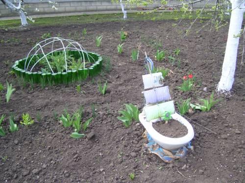 Мусора для дачи сада своими руками