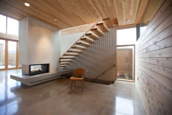 Лестницы для дачи на второй этаж своими