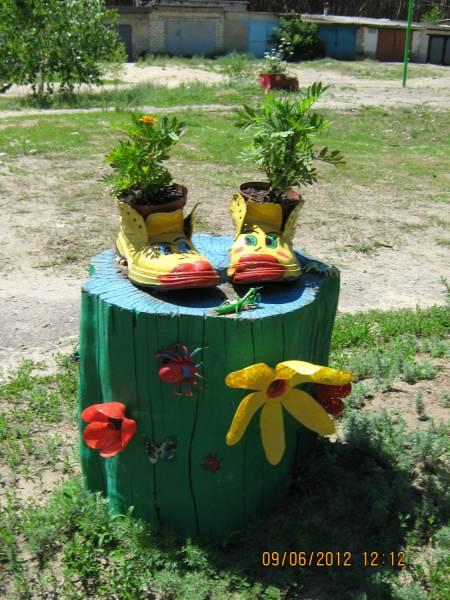 Поделки в сад и огород своими руками из дерева