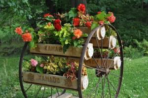 В дизайне сада участка своими руками