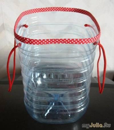 Поделки из пластиковых пятилитровых бутылок