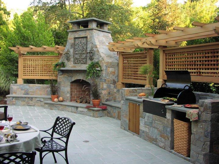Летняя кухня в саду своими руками фото 4