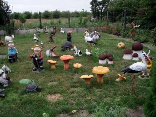 Фигурки для сада и огорода своими руками фото фото 851